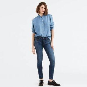 LEVI'S Distressed Denim Bold Curve Skinny Jeans 27